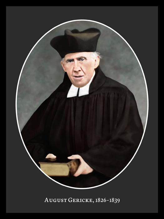 Pastor August Gericke