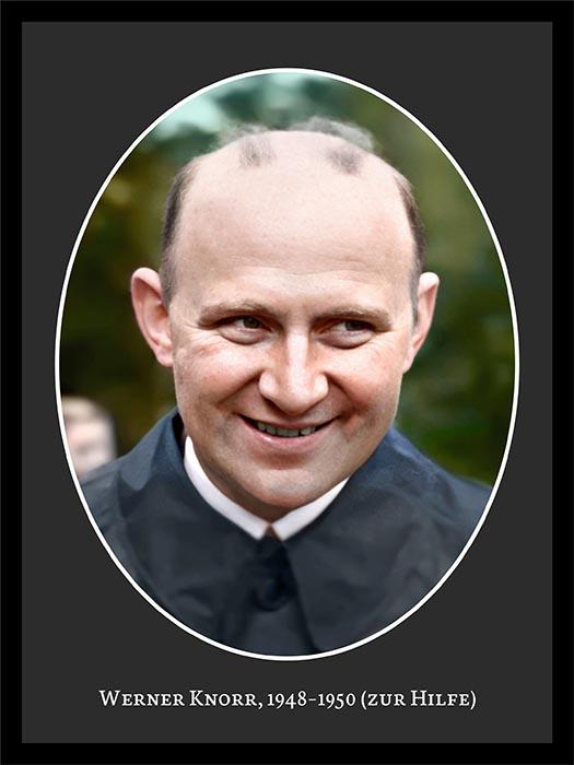 Pastor Werner Knorr