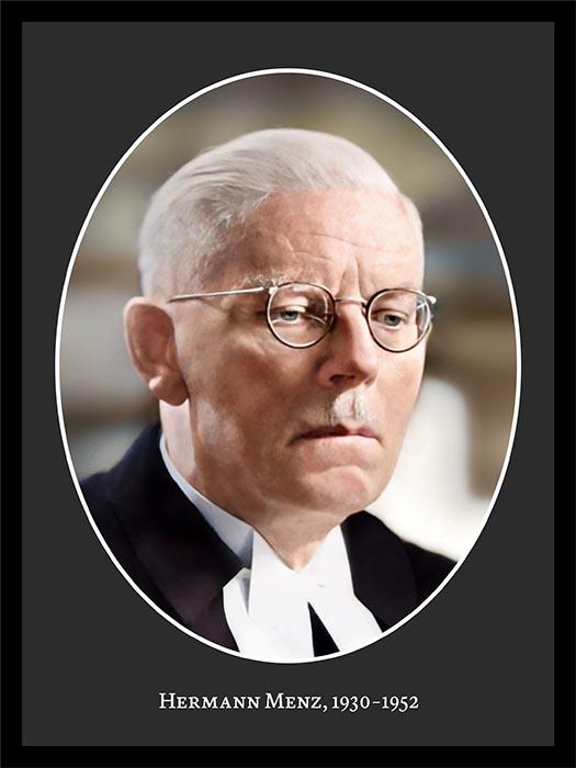 Pastor Hermann Menz